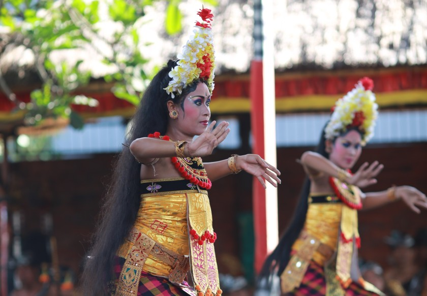 Traditional Bali show