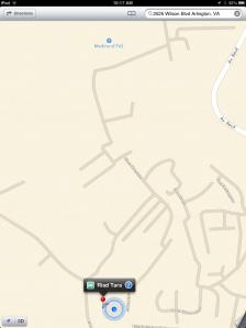 Google map of Fes medina