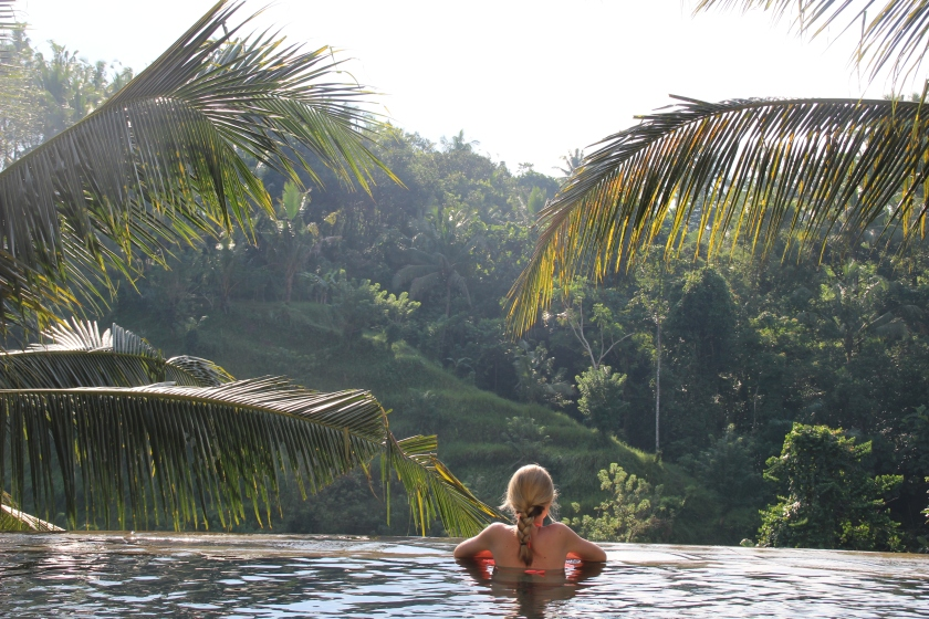 The view from the Beji Ubud. Go for this.